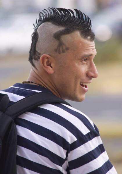 cortes de cabello para hombres 2014 jovenes con rayas - Buscar con ...