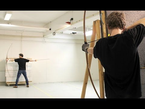 Everything you know about archery is a lie. This guy can shoot 33 arrows in 0.6 seconds while jumping through the air, and many other stunts, with accuracy.