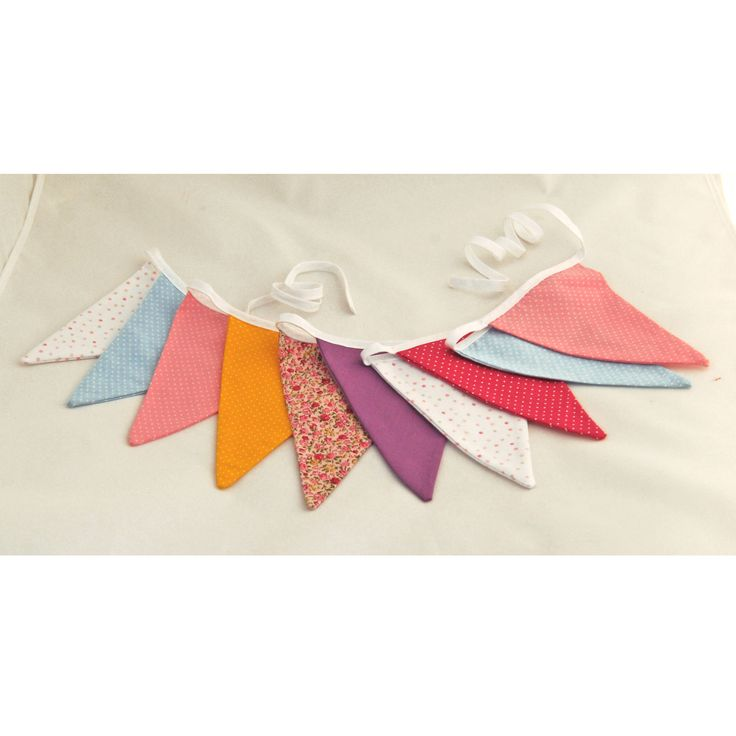 Bunting banner, Bunting flags, Nursery decor, Nursery garland, Room decor, Party decorations, Cloth banner, Fabric garland, Unisex gift by CrafterMama on Etsy