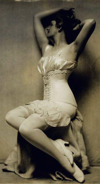 1920's Lingerie - detail - Photo by Charles Gates Sheldon>