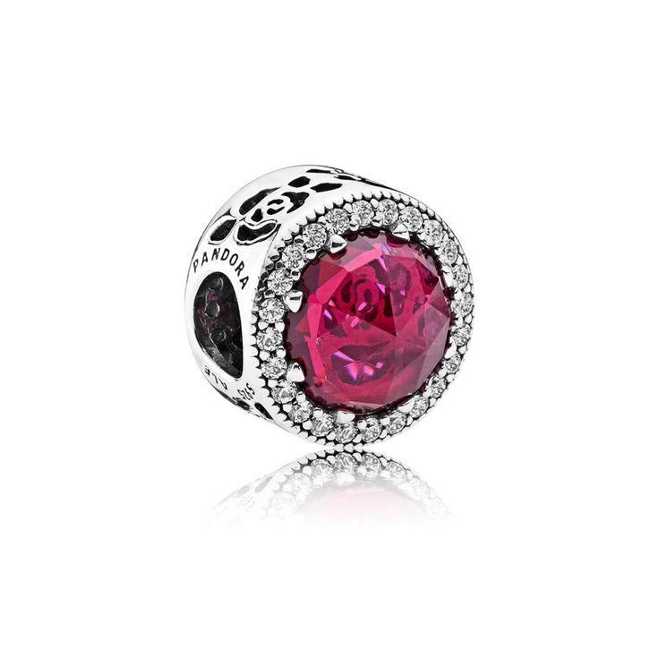 Disney Belle's Radiant Rose Charm   pandora.estore