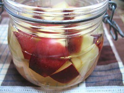 ●酢につけたりんごでりんご酢健康レシピです | アボカドに健康ジュース* れもんずカフェ - 楽天ブログ