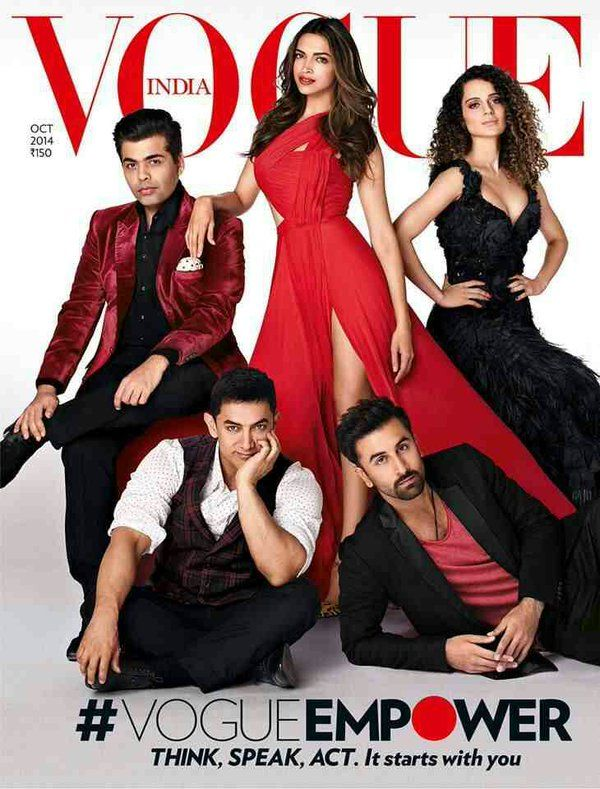 Aamir Khan on Vogue India cover with Deepika and 3 others