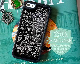 Dean Winchester Phone Case Supernatural Phone Case by fancase