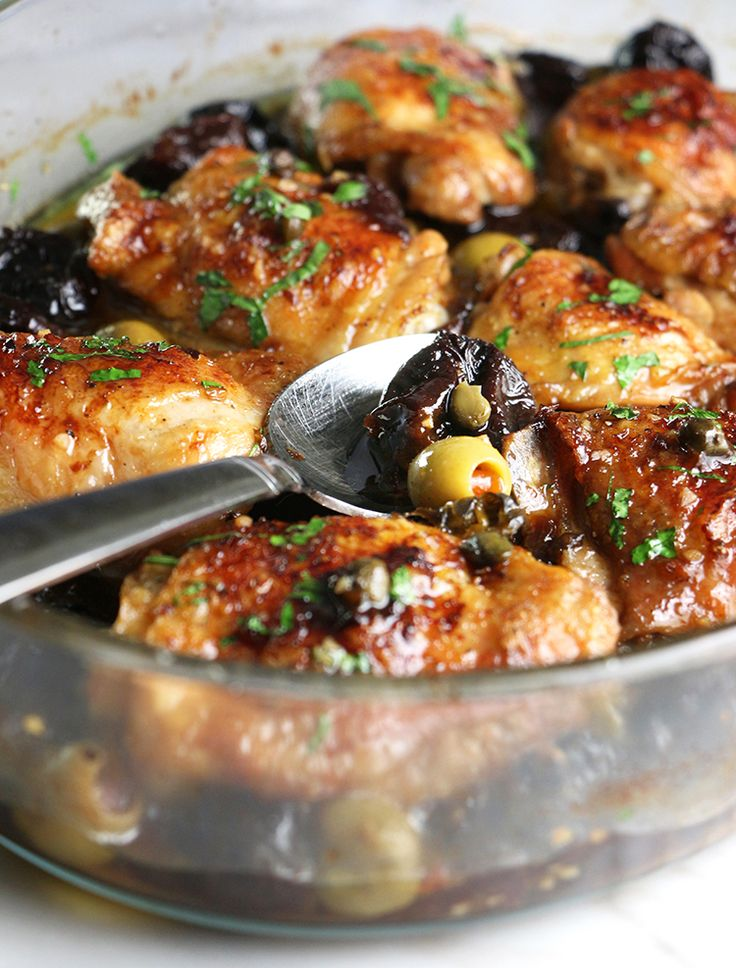 Mediterraneanchicken thighs with prunes, olives and capers… what's not to love? What would we do without chicken? It's a staple, a go-to, infinitelyversatile, universally-loved, easy to dress-up or dress-down… I could go on and on. Oh yeh… and it's always in my fridge. I went through a boneless chicken breast phase that lasted for over...Read More »