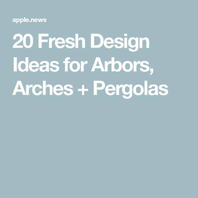 20 Fresh Design Ideas for Arbors, Arches + Pergolas — HGTV