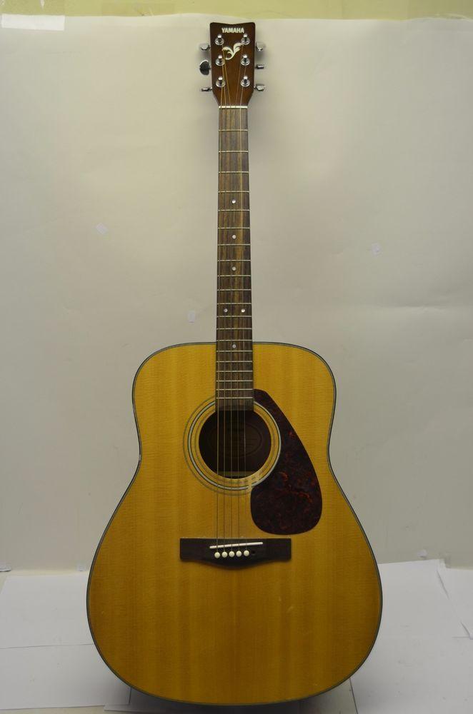 Yamaha F 325 Acoustic Guitar Case Used