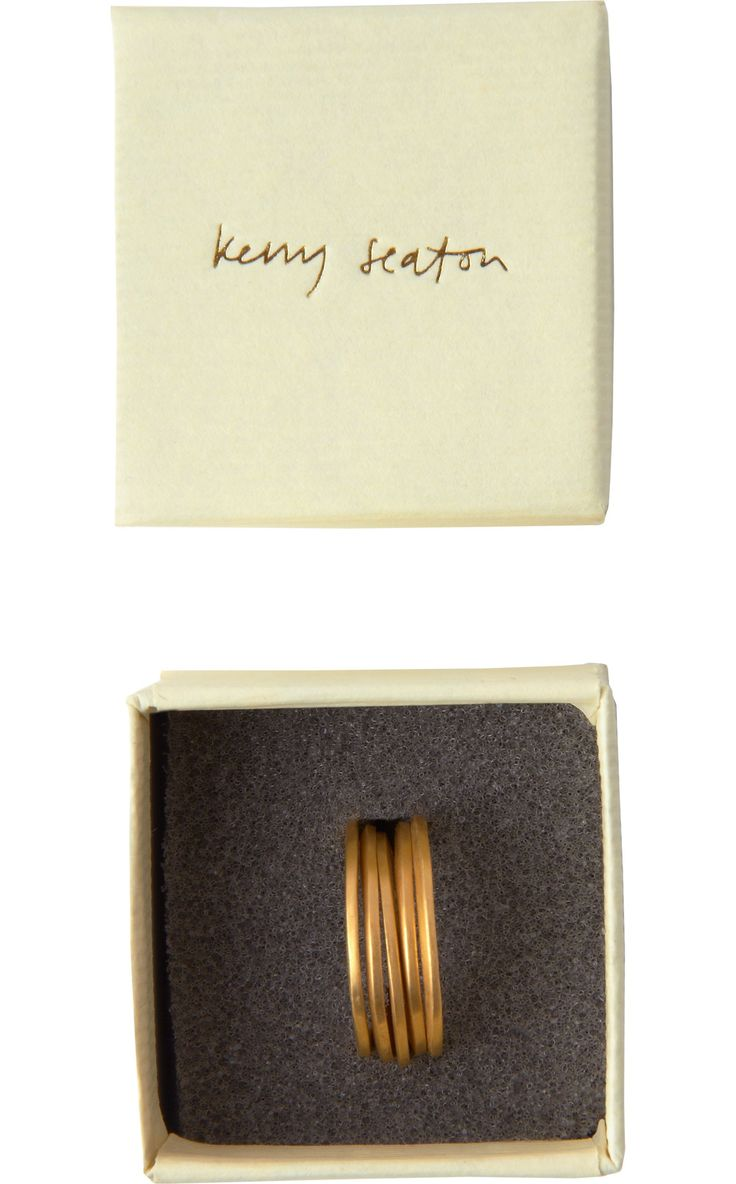 FIVE 22CT GOLD RINGS | Kerry Seaton.