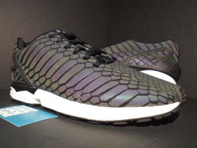 hot sale online efcd7 c6759 2015 ADIDAS ZX FLUX XENO PACK REFLECT CORE BLACK SUPCOL ...