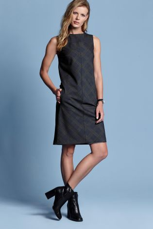 Buy Check Navy Dress from the Next UK online shop
