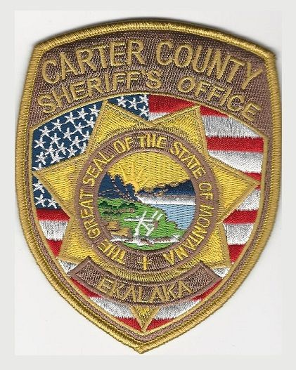 Carter county Sheriff MT