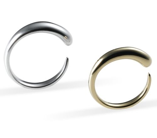 Caroline Swolfs Jewellery | men & women | la goutte éternelle thin | gold or silver | #Wedding ring