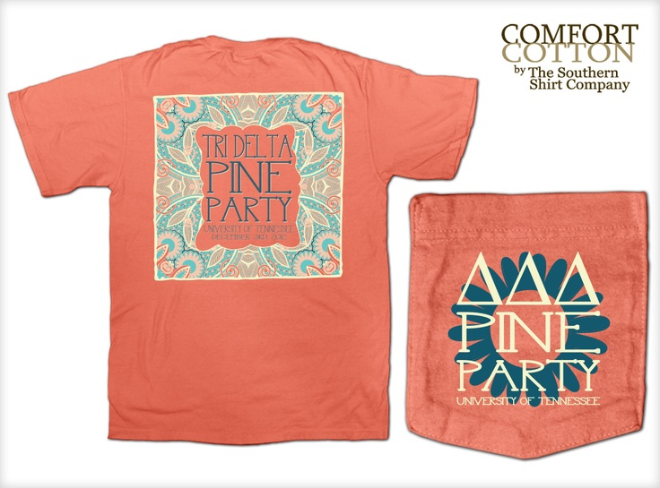 Tri Delta Sorority Shirts by The Southern Shirt Co.