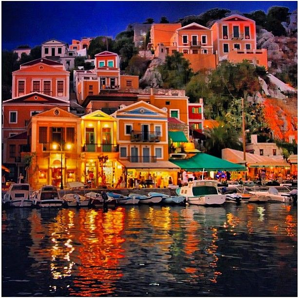 Symi Island, Greece - a magical place - full of jewellery stores!!