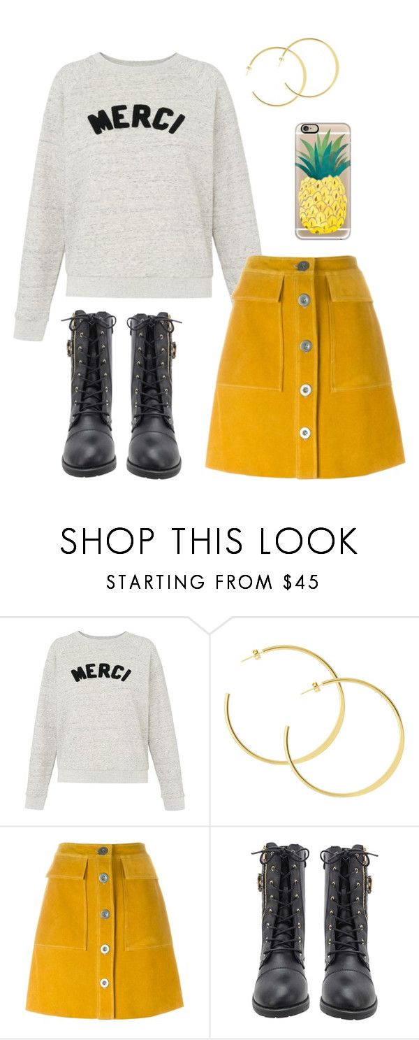 """Comfy weekend"" by neoclassicflorals ❤ liked on Polyvore featuring Whistles, M.i.h Jeans, Casetify, stylish, movies, comfy and essentials"