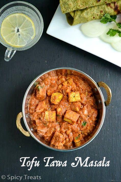 Spicy Treats: Tofu Tawa Masala / Easy Tofu Sabzi - Easy Tofu Recipes