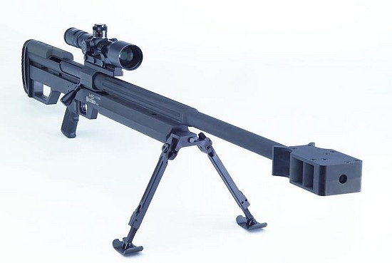 Nothing like a 50 cal Sniper.