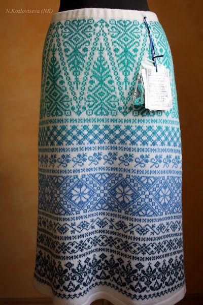 29 best Knitting :: Skirts images on Pinterest | Knit skirt ...