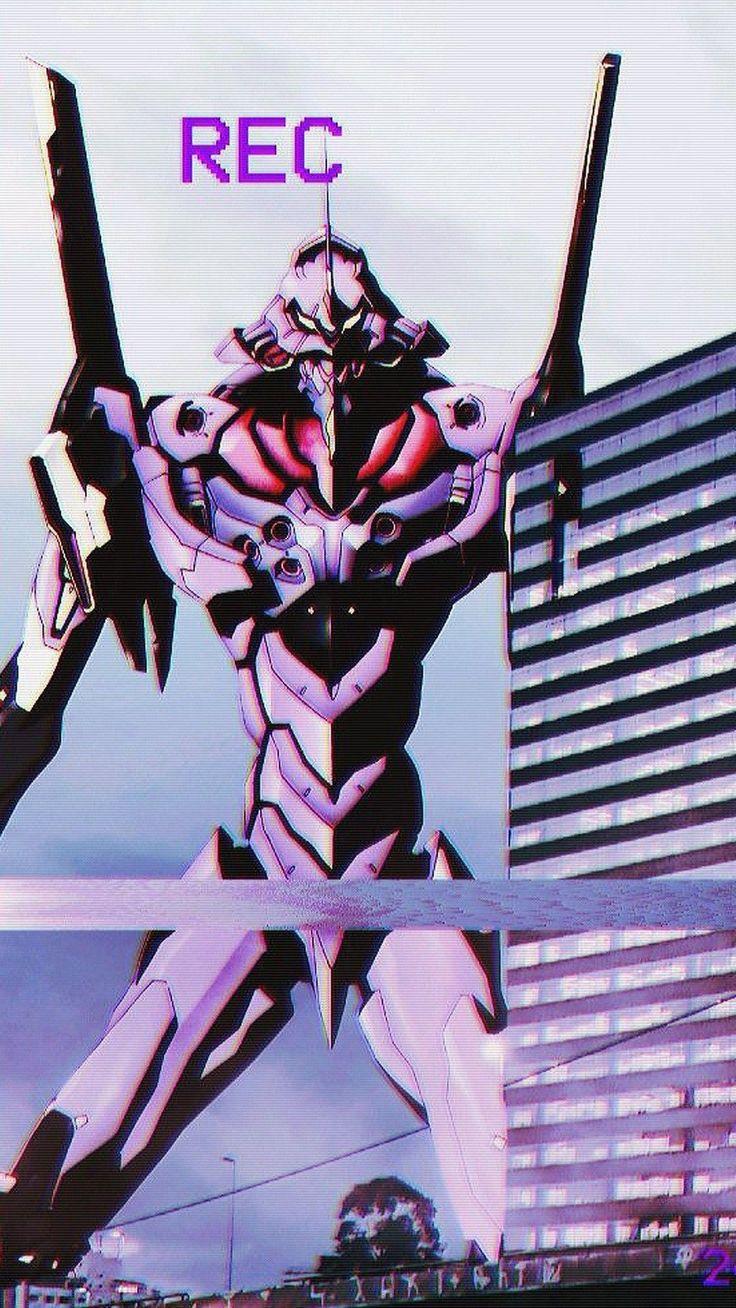 Neón génesis evangelion // Eva 01 // Fondo de pantalla