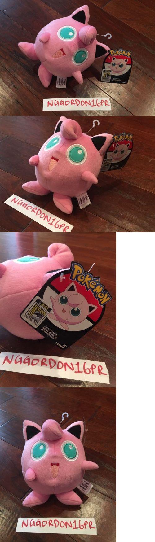 Pok mon 1524: Pokémon Jigglypuff Sdcc 2017 Exclusive Plush Doll By Tomy Toy Venusaur Pikachu -> BUY IT NOW ONLY: $40 on eBay!