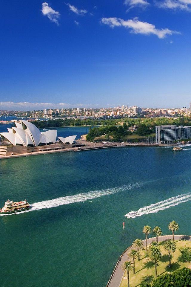 Sydney, Australia. I gotta visit my relatives