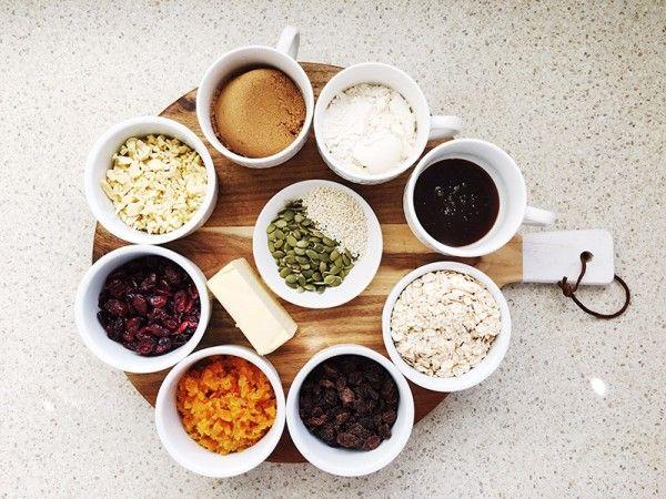 Lets-cook-muesli-slice-ingredients