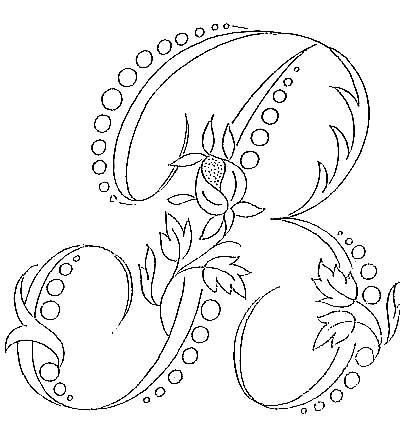 30 Embroidery Monogram