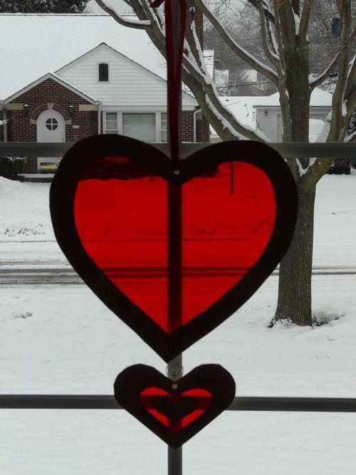 DIY Cellophane Heart