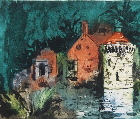 John Piper, Scotney Castle III,