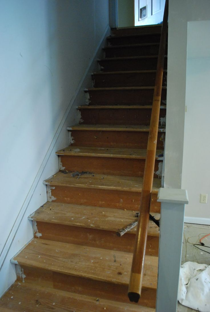 Painted Wood Stairs Best 25 Stair Makeover Ideas On Pinterest Staircase Remodel