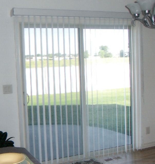 Sliding Glass Door Blinds | Door Designs Plans · Jalousien Für  TerrassentürenJalousien VorhängeSchiebetürenGlastürenSchiebetür ...