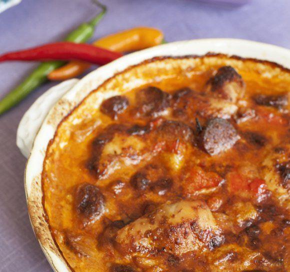 Kyckling i sambalsås | Recept.se