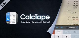 CalcTape Pro Tape v1.4.4 Calculadora (201512041643)  Martes 8 de Diciembre 2015.Por: Yomar Gonzalez | AndroidfastApk  CalcTape Pro Tape v1.4.4 Calculadora (201512041643) Requisitos: 4.0.3 Información general: CalcTape hace que el proceso aritmético visible - que puede hacer varios cálculos y posteriormente corregir o cambiar todos los números y las operaciones. Calcular. Comentario. Correcto. Cometí un error? No hay problema: marcar el número equivocado en su lugar a través de tocar dos…