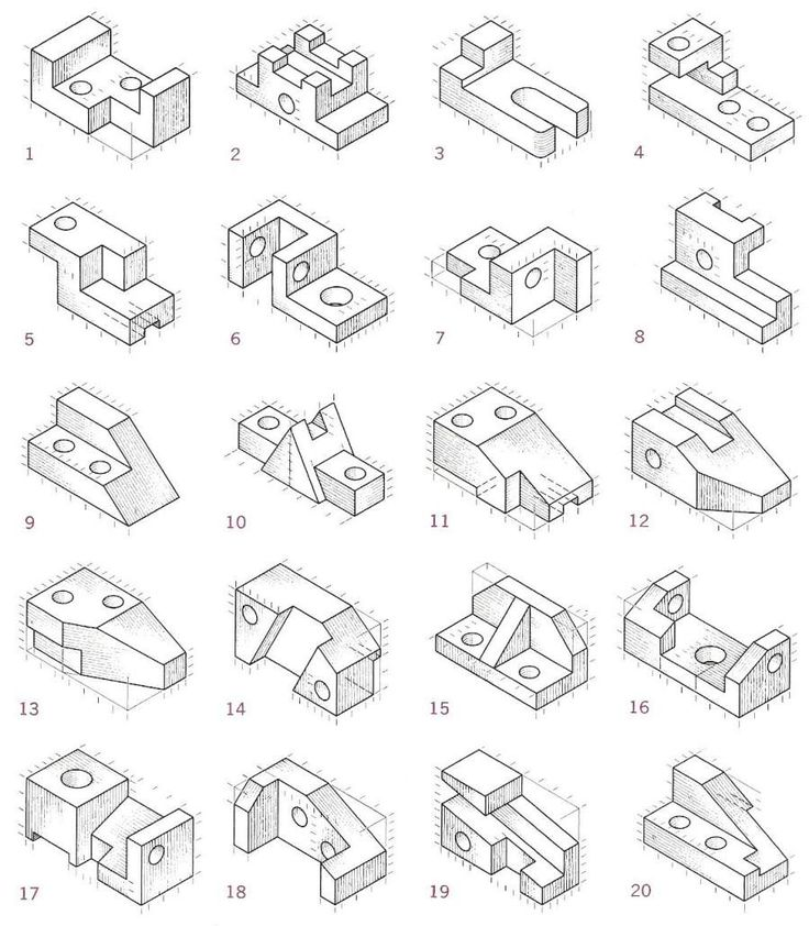 17 best Drawing_Isometric images on Pinterest
