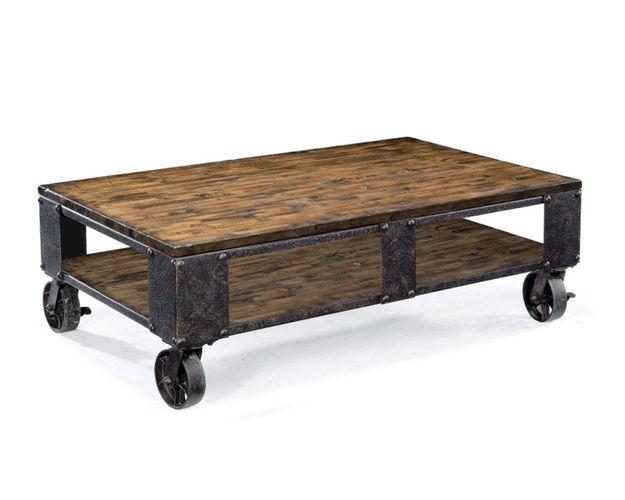 T1755 - Pinebrook Rectangular Starter Cocktail Table