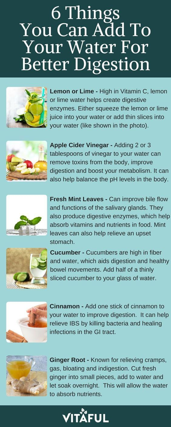 6 Things You Can Add To Your Water For Better Digestion | Detox Water | Gut Health | (scheduled via http://www.tailwindapp.com?utm_source=pinterest&utm_medium=twpin&utm_content=post116431777&utm_campaign=scheduler_attribution)