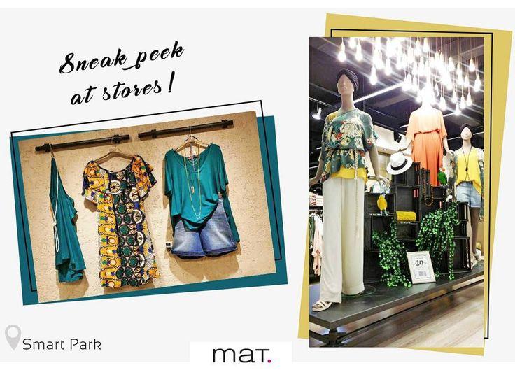 Με την βόλτα μας στο #matfashion κατάστημα του εμπορικού κέντρου Smart Park μπήκαμε σε καλοκαιρινό mood με τα χρώματα της νέας συλλογής! #mat_smartpark #realsize #style #inspiration #shopping #SmartPark #Spata #instafashion #plussizefashion