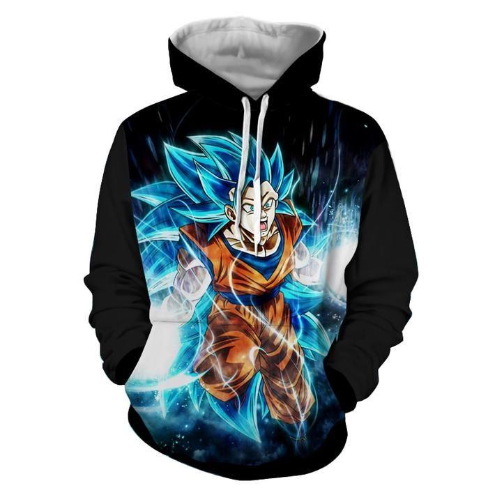 New Dragon Ball Super Goku Super Saiyan Hoodie Jacket