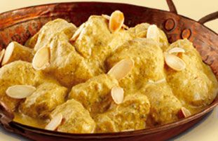 Schwartz recipe for Creamy Chicken Korma, ingredients and recipe ideas for Chicken and Indian cooking.  Visit Schwartz for more recipe ideas.