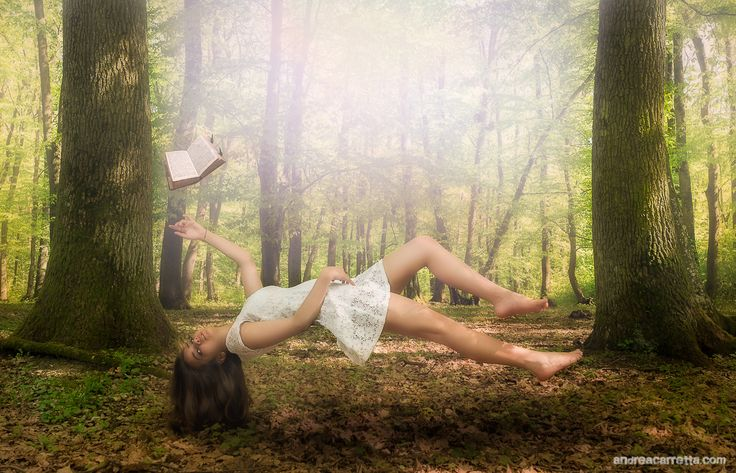 Levitating in the woods by Andrea Carretta on 500px