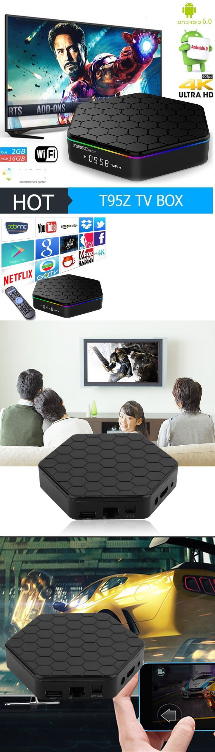Cable TV Boxes: T95z Plus 16Gb Octa Core 4K Bluetooth Wifi Bluetooth Tv Box Us Big Sale -> BUY IT NOW ONLY: $65.49 on eBay!