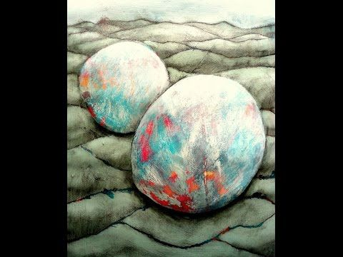 Strukturen in Acryl -Schleifen Teil 2 / Acrylic textures -Sanding Part 2 - YouTube