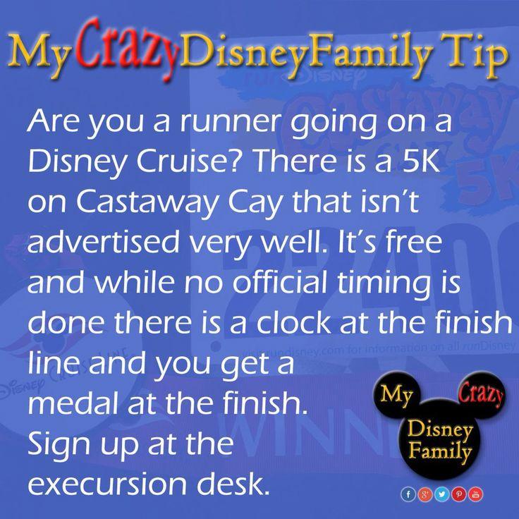Don't miss the Castaway Cay 5K while on the Disney Cruise!   #MyCrazyDisneyFamily #Disney #WDWTips #WDWtip #disneytip  #disneytips  #DisneyWorld #MickeyMouse  #wdw #magickingdom #waltdisneyworld #Disney #Mickey #Crazy #DisneyCruise #DisneyCruiseLine #5K #CastawayCay