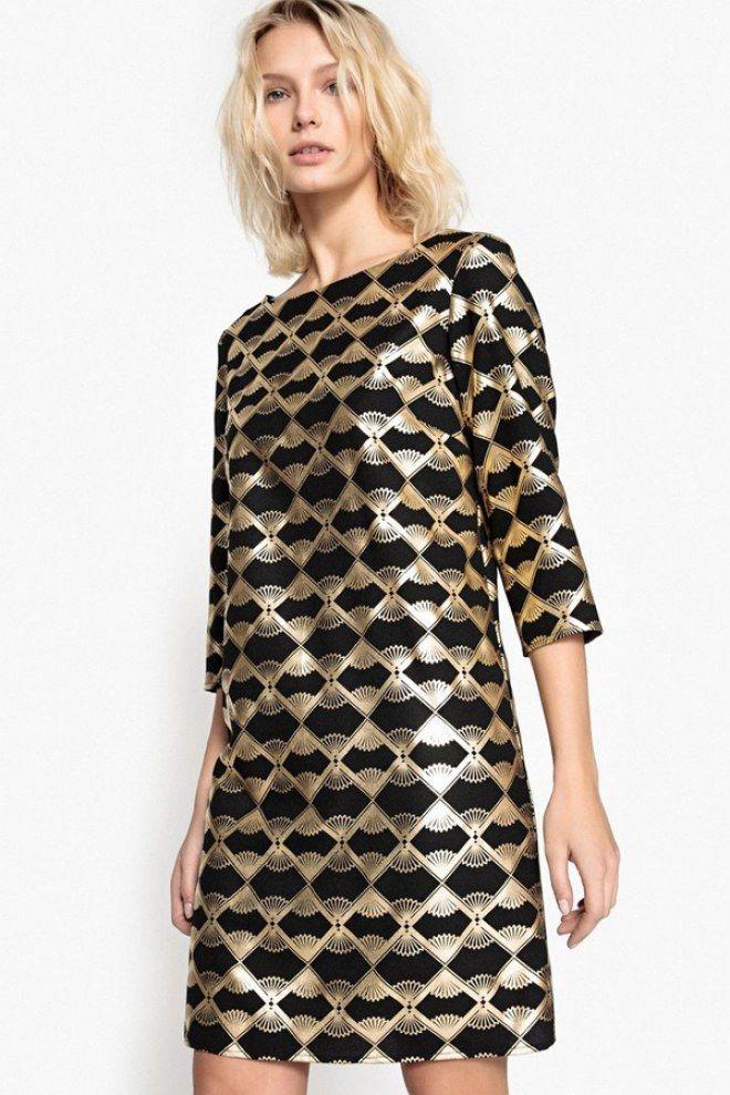 Ces Robes à Shopper Pour Fêter La Nouvelle Année En Beauté Robe Nouvel An Tenue Réveillon Robe Dorée
