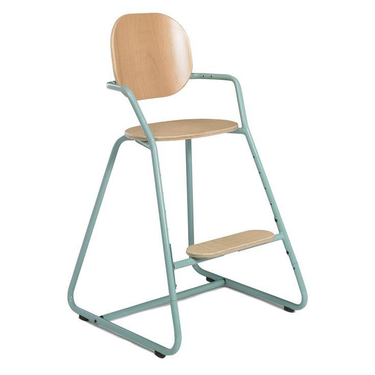 chaise haute volutive bb tibu bleue frensh baby high chair with accessoires