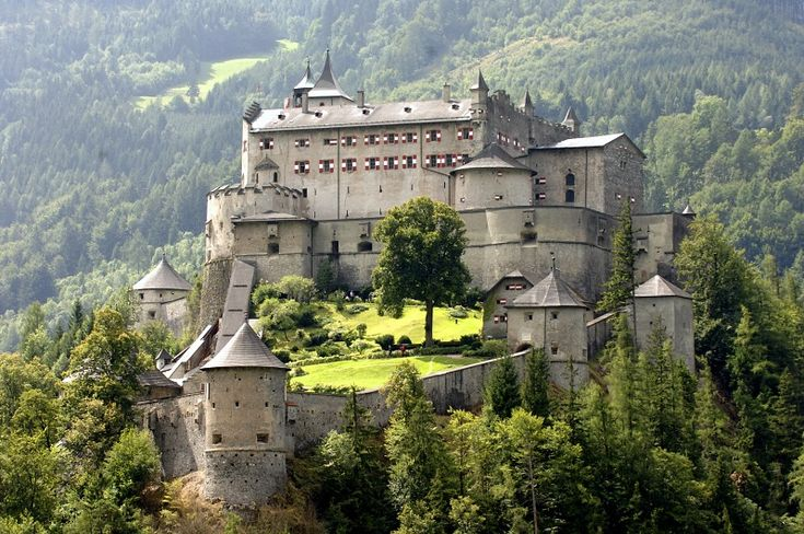 Werfen, Austria. Stayed here on my honeymoon. Yes, really.