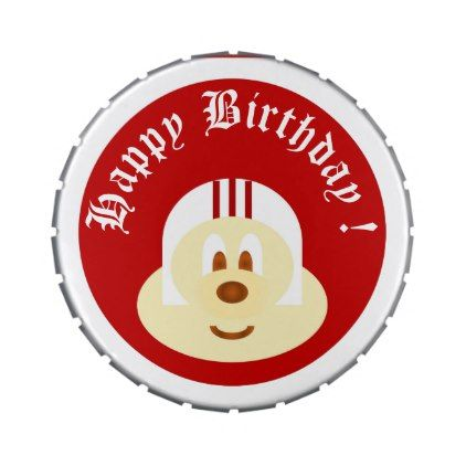 Birthday Souvenir - White Helmet 鲍 鲍 6 Candy Tins - kitchen gifts diy ideas decor special unique individual customized