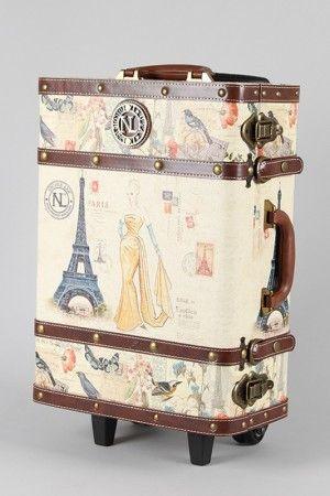 Antique postage luggage
