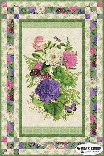 Flower Show I Free Quilt Pattern Quilting Pinterest Quilts Magnificent Pinterest Quilt Patterns