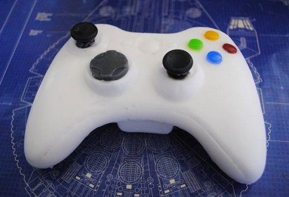 3D Xbox controller handmade Soap  Novelty gift by NerdySoap